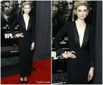 Elizabeth Debicki in Giorgio Armani @ 'Widows' New York Special Screening