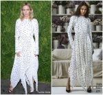 Emily Blunt in Khaite @  2018 CFDA/Vogue Fashion Fund Awards