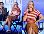 Emily Blunt In Miu Miu  @ Disney's Mary Poppins Returns Press Conference