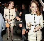 Emma Stone in Celine @ 'The Favourite' LA Screening