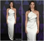 Felicity Jones in Miu Miu @  2018  Governors Awards