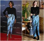 Gabrielle Union   In Rebecca De Ravenel  @  'American Son' Broadway Opening Night Party