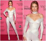 Gigi Hadid in Atelier Versace @  2018 Victoria's Secret Fashion Show After Party