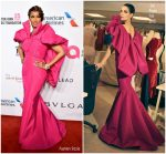 Iman In Zac Posen  @ Elton John AIDS Foundation's 17th Annual An Enduring Vision Benefit