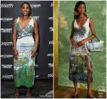Issa Rae In Altuzarra  @ 7th Annual State Of The Entertainment Industry Conference
