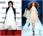 Janelle Monáe In Jean Paul Gaultier Haute Couture  @ 2018 Glamour Women of the Year Awards