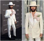 Jared Leto  In Gucci  @  2018 LACMA Art + Film Gala