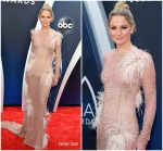 Jennifer Nettles In Uel Camilo  @  2018 CMA Awards