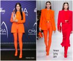 Kacey Musgraves ln  Versace  @ 2018 CMA Awards