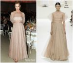Karlie Kloss in Christian Dior Haute Couture @  2018 Guggenheim International Gala Dinner