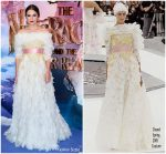 Keira Knightley In Chanel Haute Couture  @ 'The Nutcracker and the Four Realms ' London Premiere