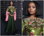 KiKi Layne  In Gucci  @  2018 LACMA Art + Film Gala.