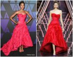 Kiki Layne In Ralph & Russo Couture  @  2018 Governors Awards
