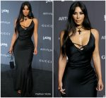 Kim Kardashian West In Vintage Gucci   @  2018 LACMA Art + Film Gala