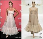 Lady Gaga In Christian Dior Haute Couture  @ SAG-AFTRA Foundation's 3rd Annual Patron of the Artists Awards