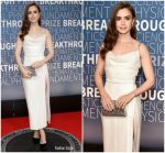 Lily Collins in Markarian @  2019 Breakthrough Prize Ceremony