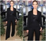 Lily James in Burberry @ 'Close Your Eyes and Think of Christmas' New York Celebration