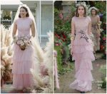 Mandy Moore Weds Taylor Goldsmith Wearing  Rodarte