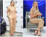 Margot Robbie In Nanushka  @ Nissan Futures Event