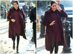 Meghan, Duchess of Sussex In Club Monaco  @ The Hubb Community Kitchen Visit