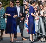 Meghan, Duchess of Sussex In Givenchy  @ Rainbow Springs Visit
