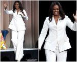 Michelle Obama In  Christian Siriano  @  Becoming: An Intimate Conversation With Michelle Obama