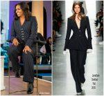 "Michelle Obama  In  Jonathan Simkhai  @  ""Good Morning America"""