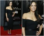 Michelle Rodriguez in Jill Stuart @ 'Widows' New York Special Screening