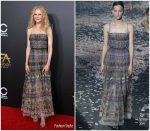 Nicole Kidman  In Christian Dior  @ 2018 Hollywood Film Awards