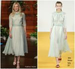 Nicole Kidman In Emilia Wickstead  @ The Ellen DeGeneres Show