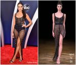 Olivia Culpo In Aadnevik  @  2018 CMA Awards