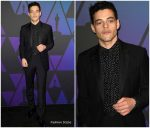 Rami Malek  In Givenchy  @  2018 Governors Awards