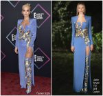 Rita Ora in Atelier Versace @  2018 People's Choice Awards
