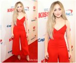Sabrina Carpenter In Vatanika  @ 106.1 KISS FM's Jingle Ball 2018
