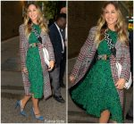 Sarah Jessica Parker In Whistles & Baukjen – Out In New York