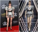 Shailene Woodley  In Ralph and Russo Couture   @  2018 Hollywood Film Awards
