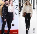 Sophie Turner  In Louis Vuitton @ 'Volez, Voguez, Voyagez' Shanghai Exhibition Opening