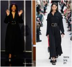 Taraji P. Henson In Valentino @ 'Ralph Breaks The Internet' Jimmy Kimmel Live