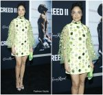 Tessa Thompson in Prada @ 'Creed II' New York Premiere