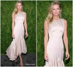 Toni Garrn in Brock Collection @ 2018  CFDA/Vogue Fashion Fund Awards