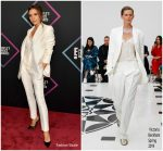 Victoria Beckham in Victoria Beckham @ 2018 People's Choice Awards