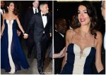 Amal Clooney In J. Mendel  @ 23rd Annual United Nations Correspondents Associations (UNCA) Awards