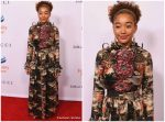 Amandla Stenberg In  Gucci  @ Equality Now's Make Equality Reality Gala 2018