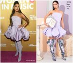 Ariana Grande In Christian Siriano  @ Billboard Women In Music 2018