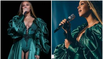 beyonce-knowles-in-emerald-green-gown-global-citizen-festival-mandela-100