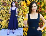 Camilla Belle In Ralph Lauren @ The Beverly Hilton Unveils Menu For The 2019 Golden Globe Awards