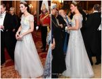 Catherine, Duchess of Cambridge In Jenny Packham  @ Diplomatic Corps Reception