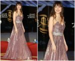 Dakota Johnson in Gucci @ 17th Marrakech International Film Festival Opening Ceremony