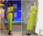 Danai Gurira in Emilia Wickstead @ the 76th Annual Golden Globe Nominations Announcement