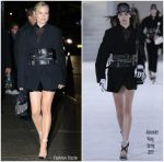 Diane Kruger In Alexander Wang @ The Late Show With Stephen Colbert